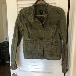 Gap Cropped Utility Jacket
